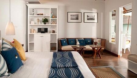 гостиная и спальня в одной комнате 14