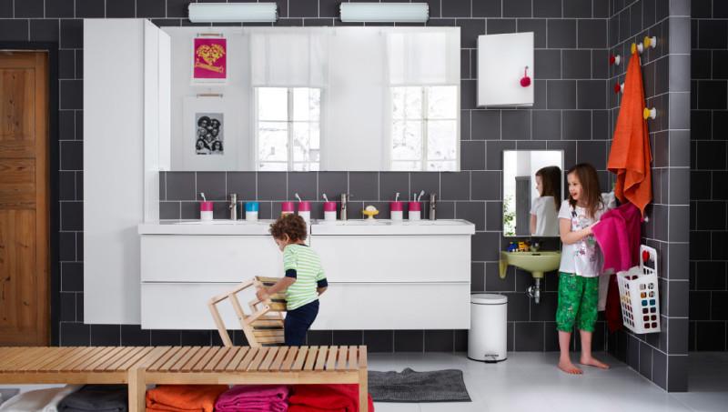 Мебель для ванной от ИКЕА