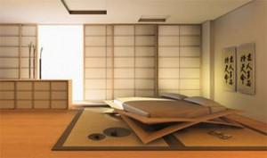 интерьер в японском стиле 14