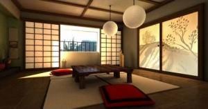 интерьер в японском стиле 16