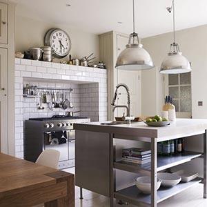 люстры и светильники в кухню-гостиную 05