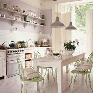люстры и светильники в кухню-гостиную 06