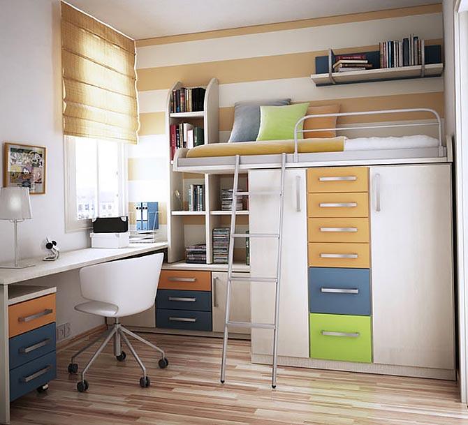 маленькая детская комната фото 34