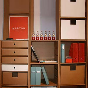 мебель из картона 08