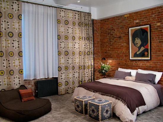Этические мотивы в дизайне спальни в современном стиле