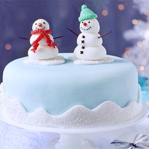 новогодние торты 04