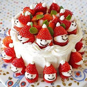 новогодние торты 12