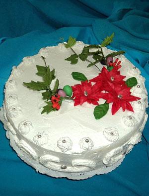 новогодние торты 15