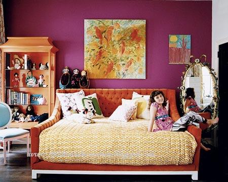 оранжевый и фиолетовый 12