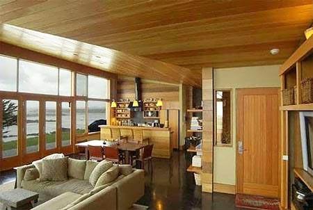 деревянный потолок 06
