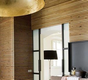 деревянный потолок 19
