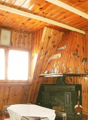 деревянный потолок 20