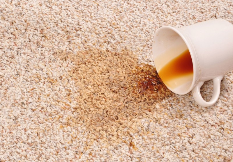 Пятна на ковролине от напитков