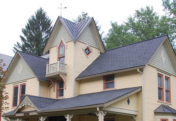 многоскатные крыши