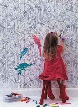 роспись стен в детской комнате 4