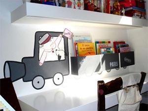 роспись стен в детской комнате 9