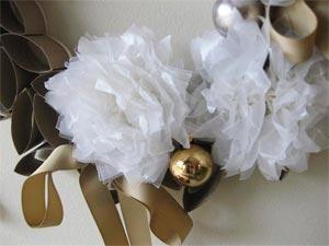 рождественский венок своими руками из картона 05