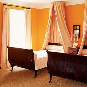 шоколадный и оранжевый 06