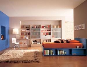 современная спальня для девушки 36