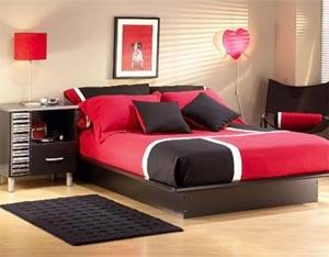 современная спальня для девушки 37
