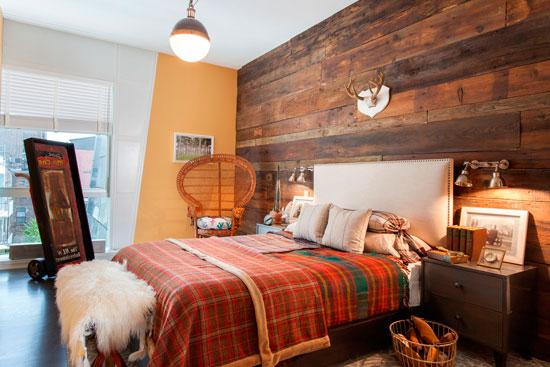 Экологический декор может добавить уют в любую спальную комнату