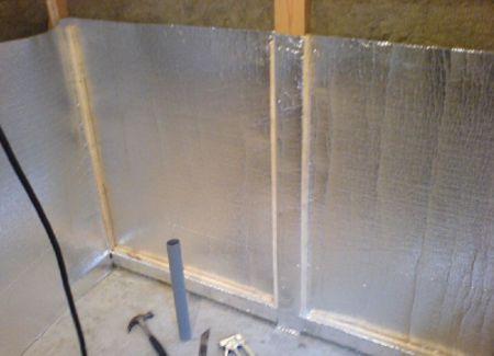 Теплоизоляция каркасной бани - какой материал выбрать