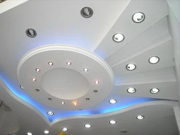 Светильники потолочные точечные