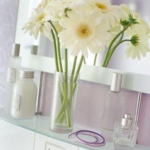цветы в ванной комнате 19