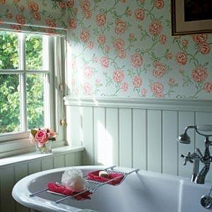 цветы в ванной комнате 22