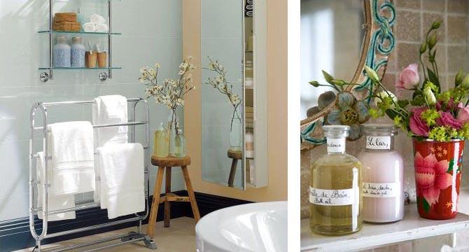 цветы в ванной комнате 30