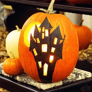 тыква на хэллоуин 17