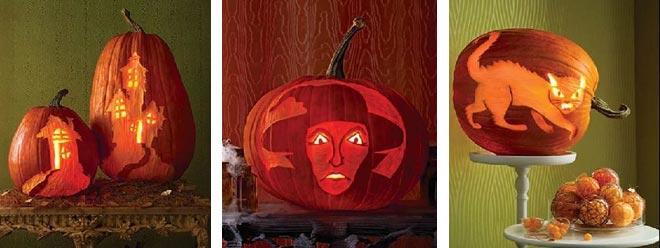 тыквы на Хэллоуин 21