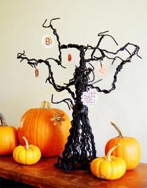 украшение дома к хэллоуину 161