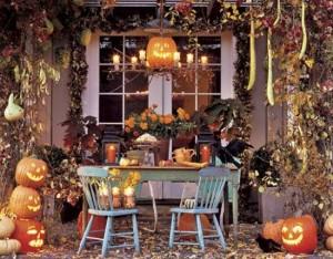 украшение дома к хэллоуину 8