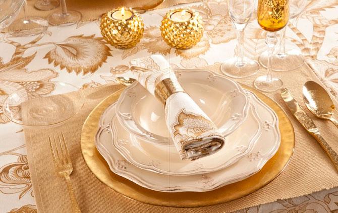 украшение новогоднего стола фото 014