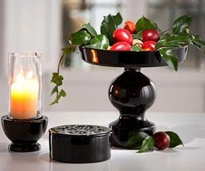 украшение стола цветами и свечами фото13