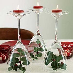 украшение стола цветами и свечами фото7