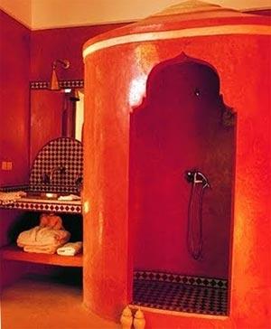 ванная комната в марокканском стиле 13