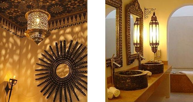 ванная комната в марокканском стиле 14