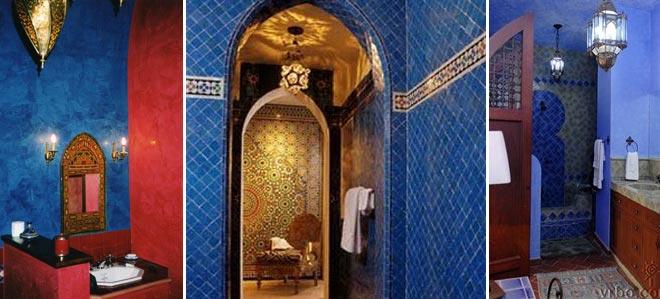 ванная комната в марокканском стиле 27