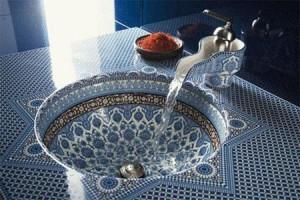 ванная комната в марокканском стиле 9