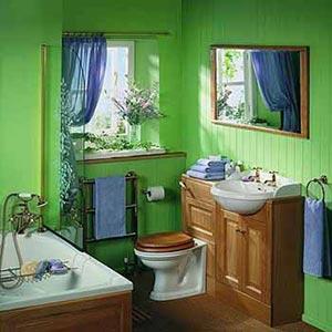 яркая ванная комната 18