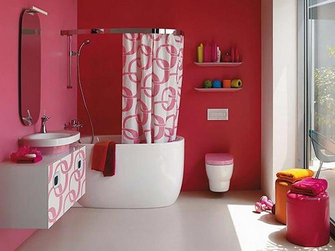 яркая ванная комната 28