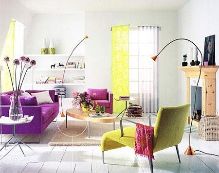 желтый и фиолетовый 13