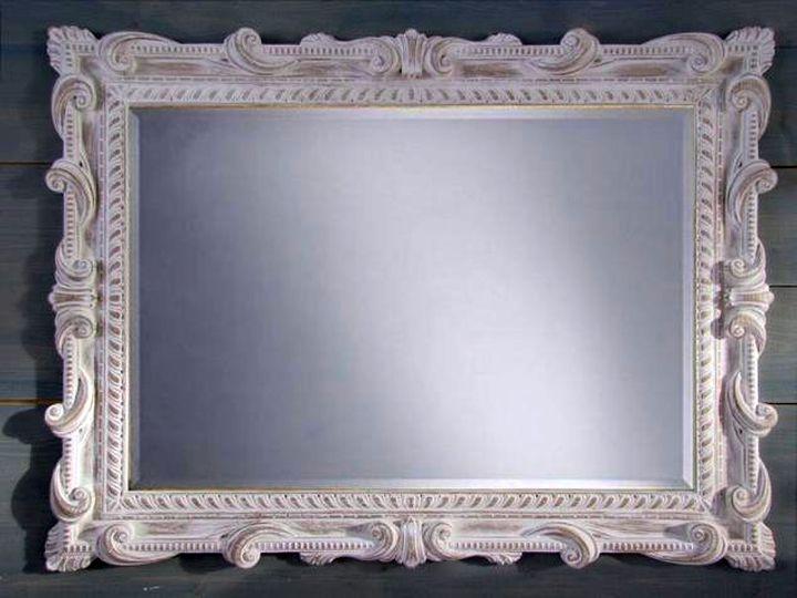 Элементы лепнины для оформления рамки для зеркала