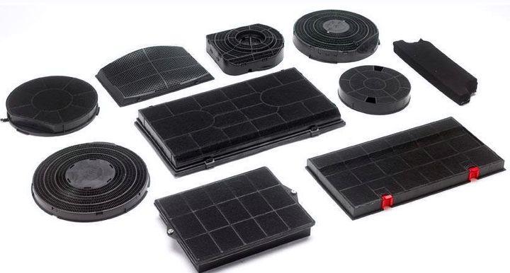 Разнообразие форм и размеров угольных фильтров