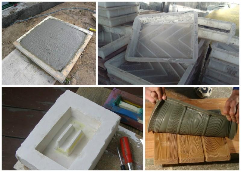 Как сделать формы для плиток дома