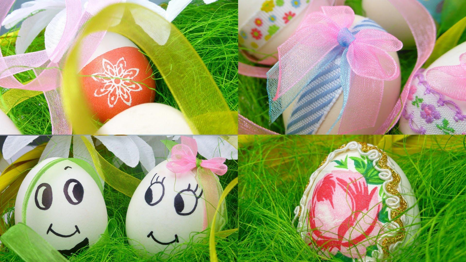 Украшение пасхальных яиц своими руками фото 132