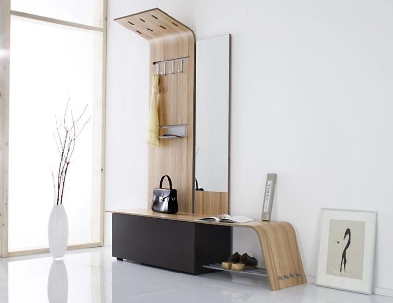 Мебель для прихожей в современном стиле светлые тона