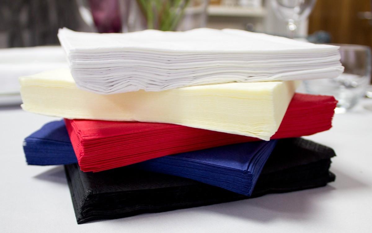 Салфетки для изготовления лотоса
